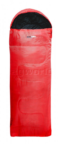 BlackWolf Murray Hooded 10 Degrees Sleeping Bag Red MURR