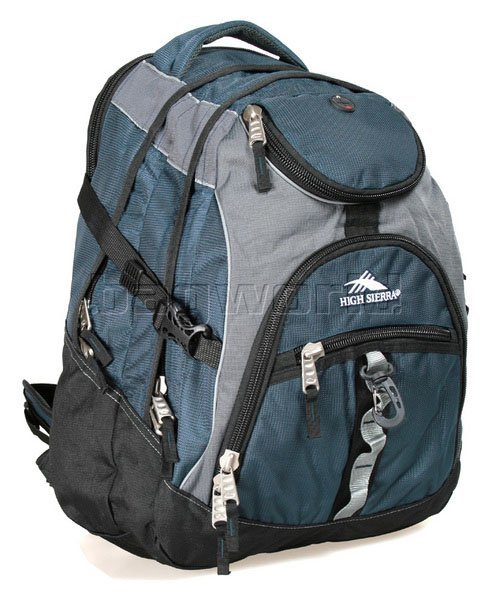 High Sierra Access 17 Laptop Backpack Navy H5462