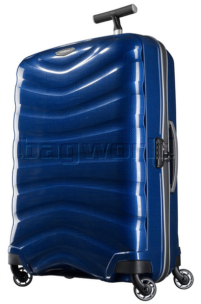 Samsonite Firelite Large 75cm Hardside Suitcase Deep Blue 72003