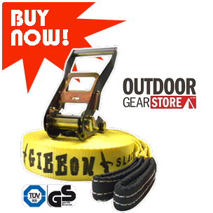 Gibbon CLASSIC SlackLines at Australias best prices with FREE delivery over 99.00