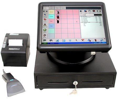 MPOS209 Touch Terminal with all hardware software.