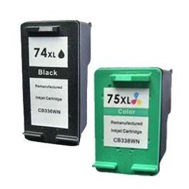 Compatible HP 74 XL 75 XL FREE DELIVERY PACK