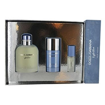 Dolce Gabbana Light Blue Homme Gift Set
