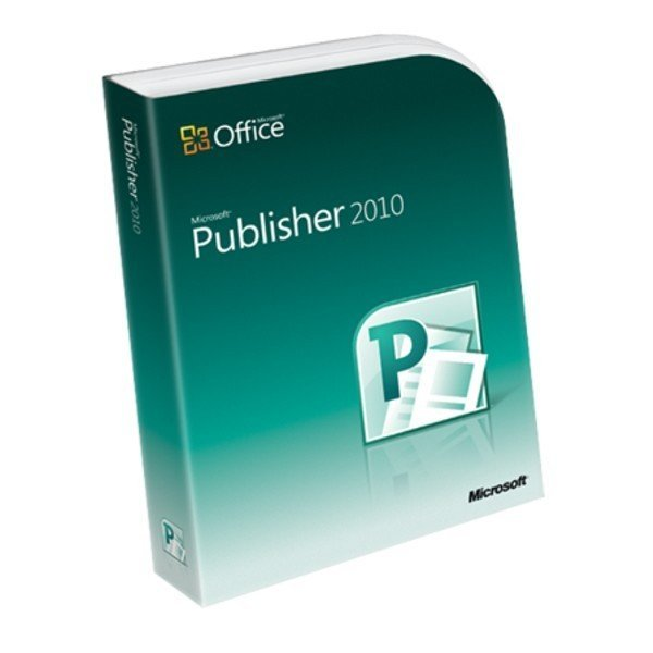 Microsoft Publisher 2010 2PC Academic