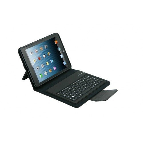 ipad mini Bluetooth keyboard with leather case