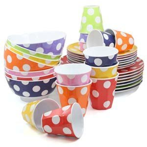 Sick of breakages Say Hello to JAB Melamine BPA Free Shatter Proof and Dishwasher Safe