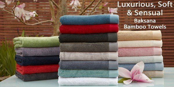 Ultra Luxurious Bath Towels 40 Bamboo 60 Cotton Baksana