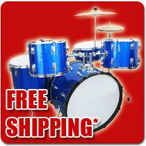 Drum Kits and Accessories Starting at 313.95 Dollars for Kits Free Shipping Great Range