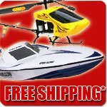 Remote Controlled Helicopters Cars Boats and More FREE Shipping Starting at 49 Dollars