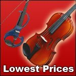 Violins Cellos Electric Violins. Top Grade. Lowest Prices. Fast Shipping.