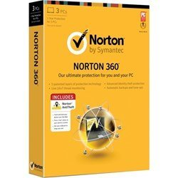 Symantec Norton 360 2013 3 PC Version Antitheft Bundle
